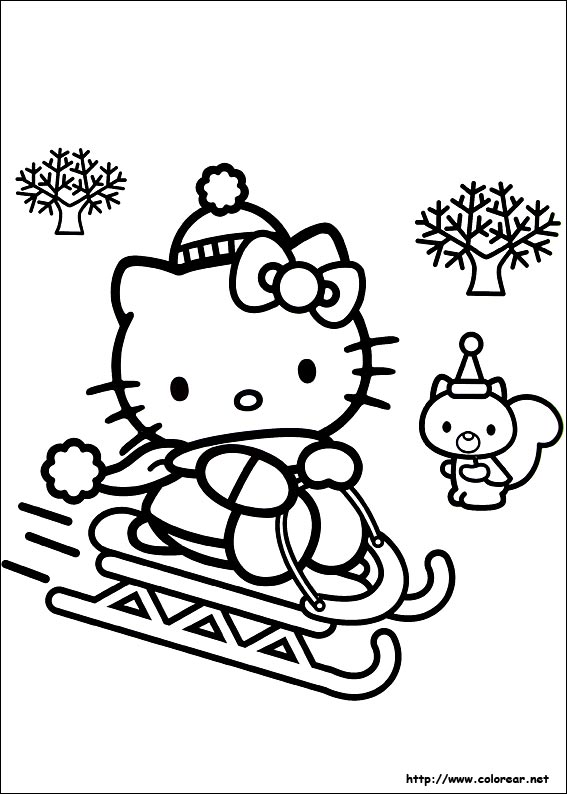 dibujos para colorear de amigos en navidad. Black Bedroom Furniture Sets. Home Design Ideas
