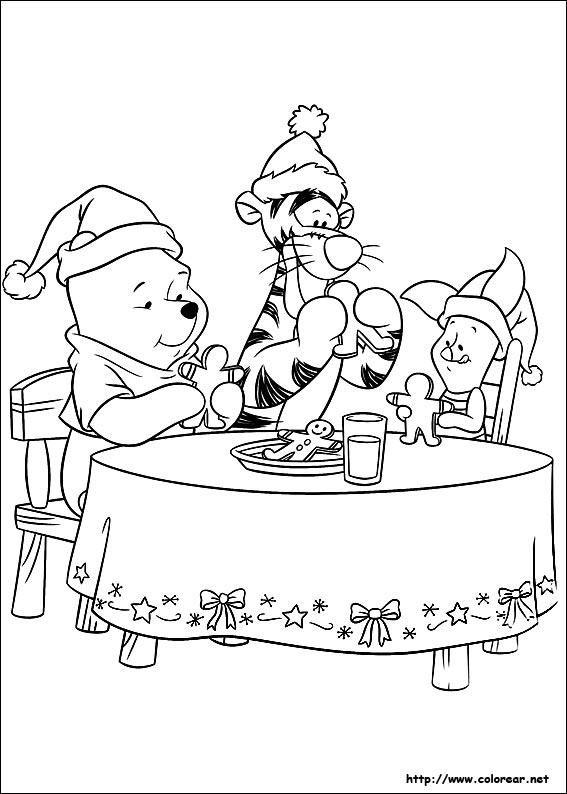Dibujos de Amigos en Navidad