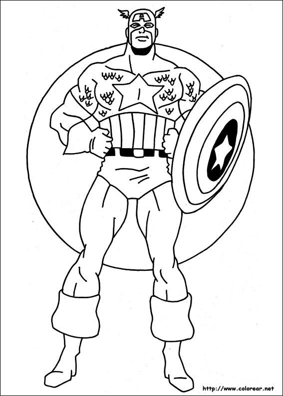Dibujos De Capitan America Volver A La Categoria Capitan America