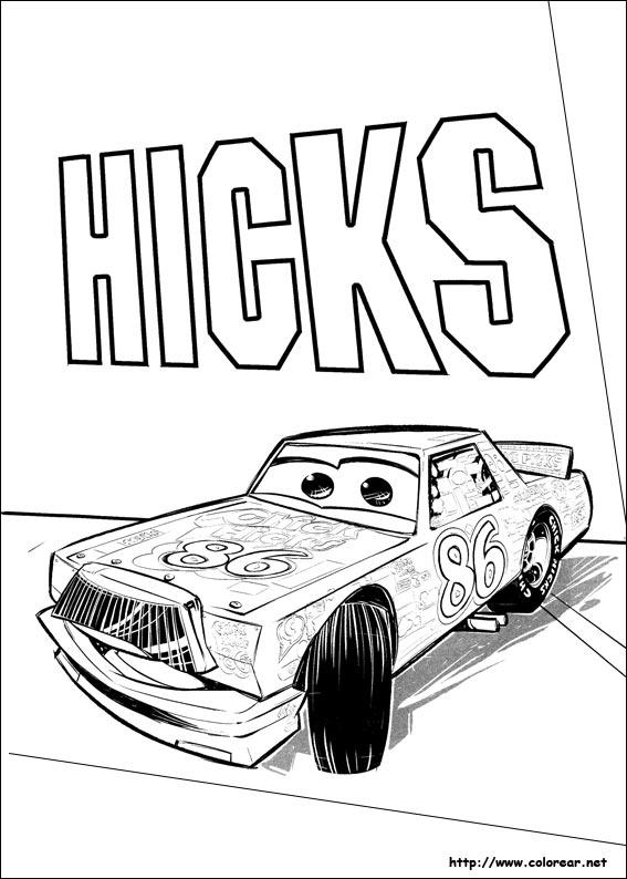 Dibujos para colorear de cars 3 - Coloriage cars 3 storm ...