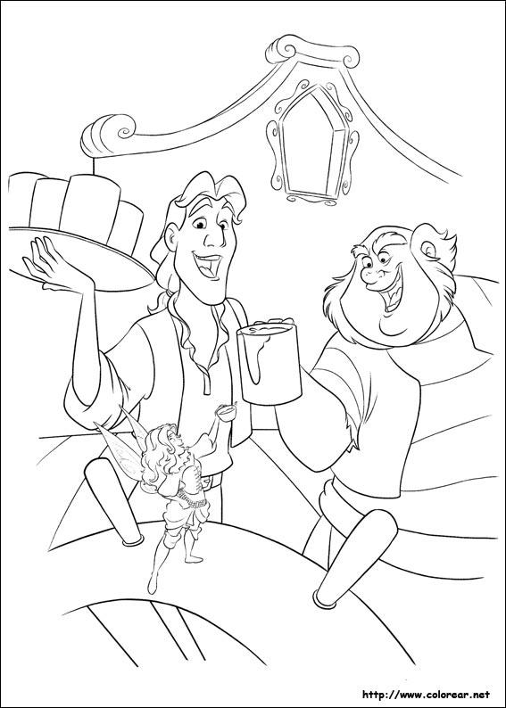 hadas y piratas silver mist coloring pages - photo #1