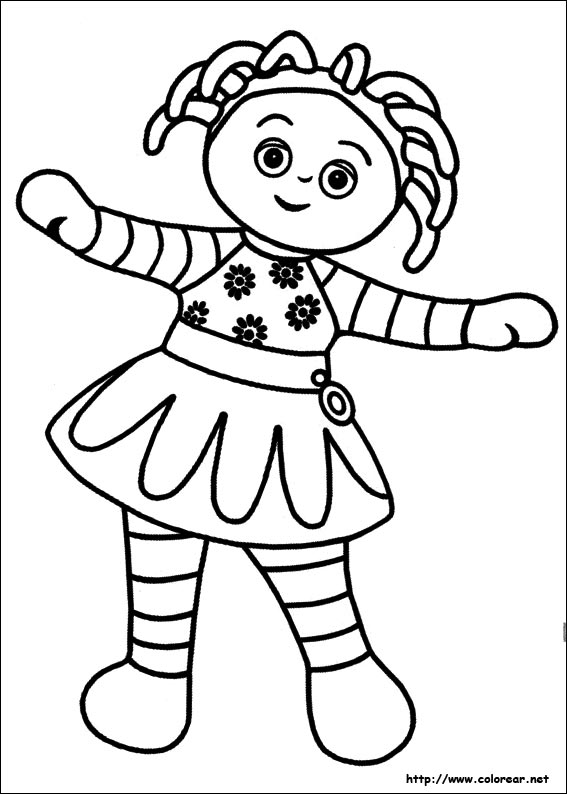 night garden coloring pages print - photo #8