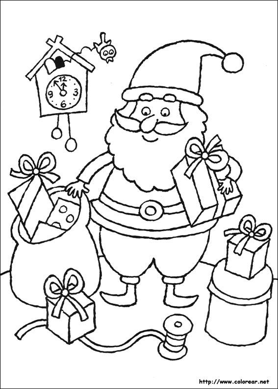 Dibujos para colorear de navidad - Imagenes navidad para imprimir ...