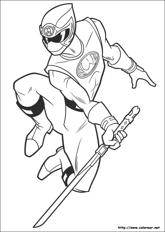 power ranger robot coloring pages - photo#32