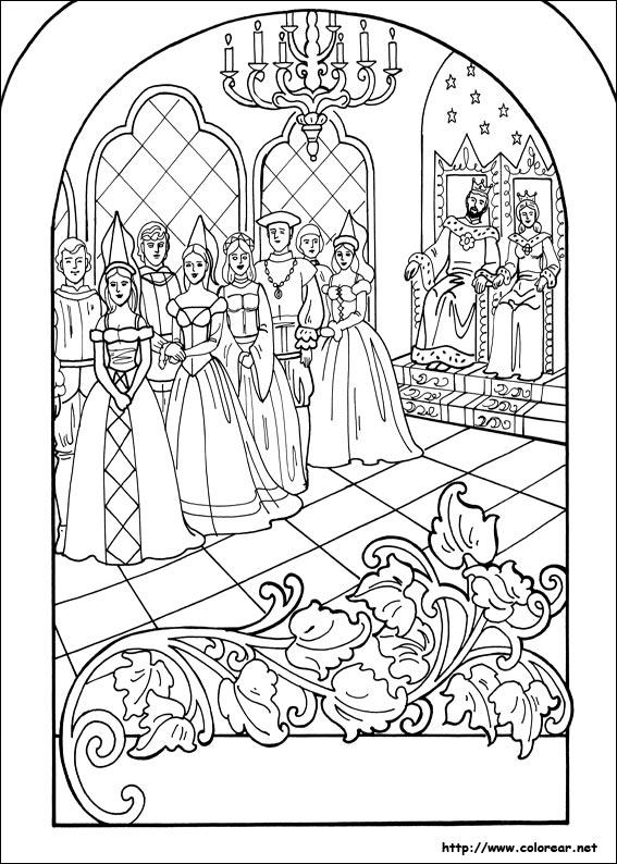Dibujos Para Colorear De Princesa Leonora