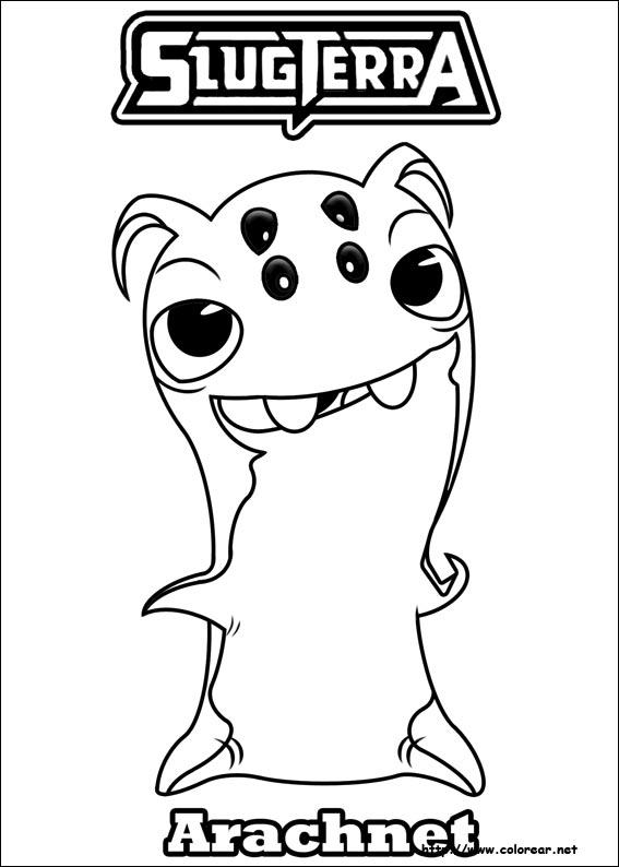 Dibujos para colorear de slugterra - Coloriage slugterra a imprimer ...