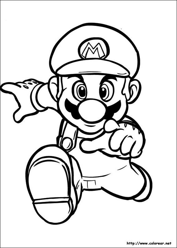 Yoshi Kleurplaten Printen Dibujos Para Colorear De Super Mario Bros