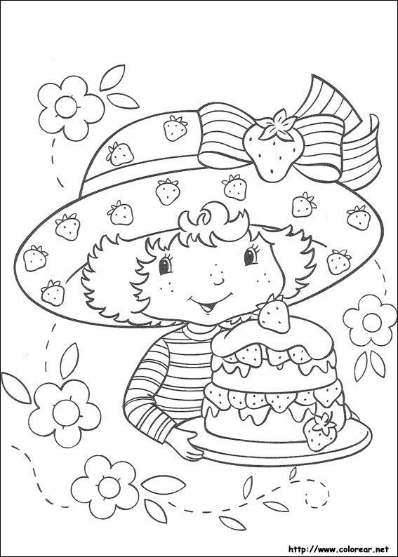 Dibujos para colorear de tarta de fresa - Jeux de charlotte aux fraises cuisine gratuit ...