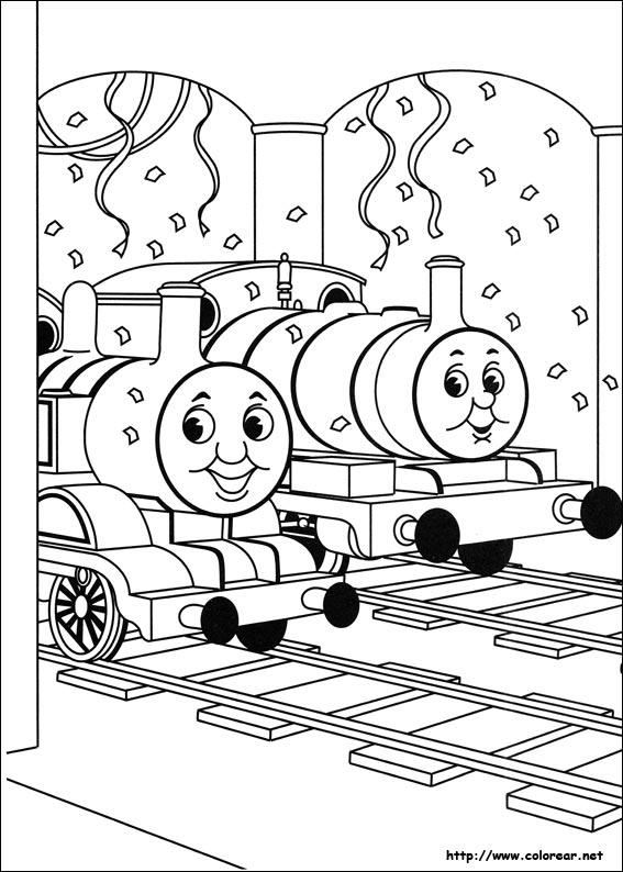 Thomas Y Sus Amigos Para Imprimir Dibujos Para Colorear Imagixs ...