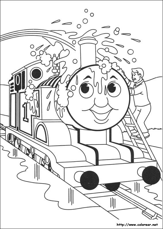 thomas e seu friends Colouring Pages (page 2)