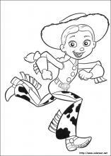 Dibujos de toy story 3 para colorear en for Toy story 3 jessie coloring pages
