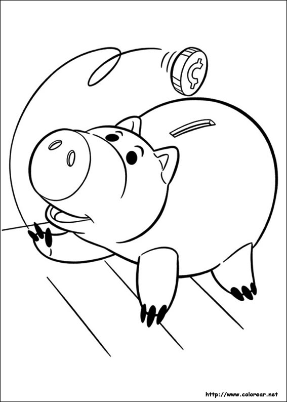 toy story coloring pages sid - photo#13