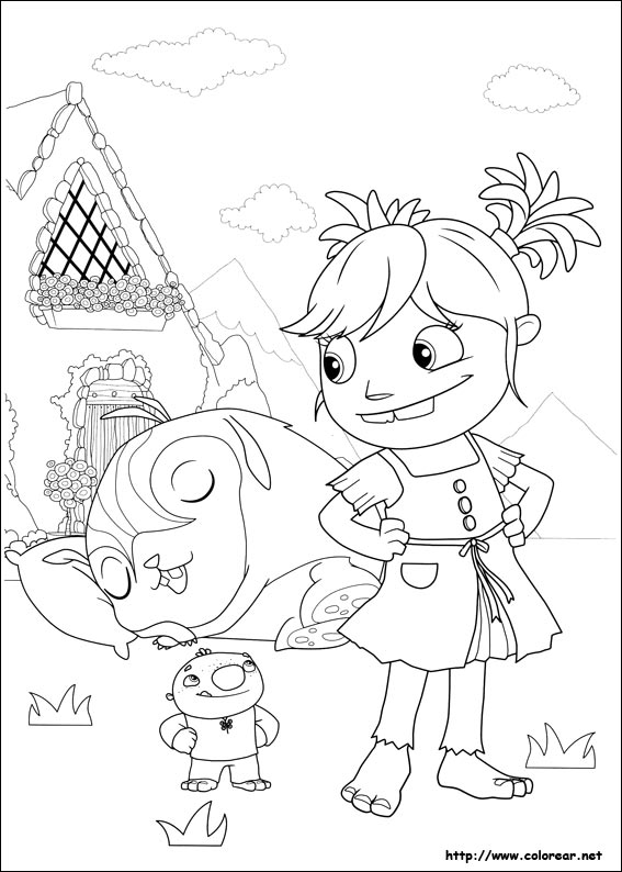 wally coloring pages | Wally Kazam Coloring Pages Printable Coloring Pages