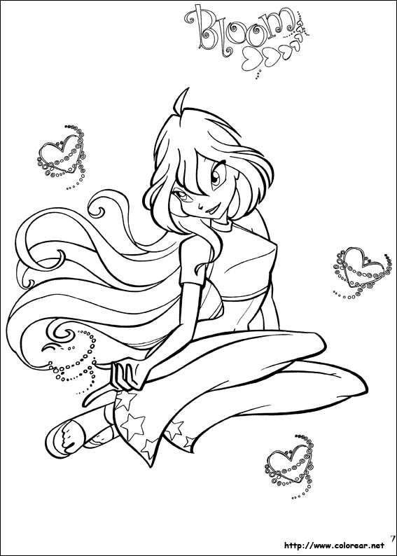 Dibujos de Winx Club