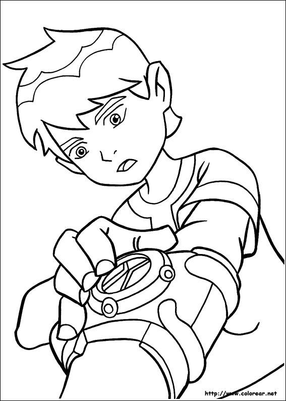 Dibujos Para Colorear De Ben 10