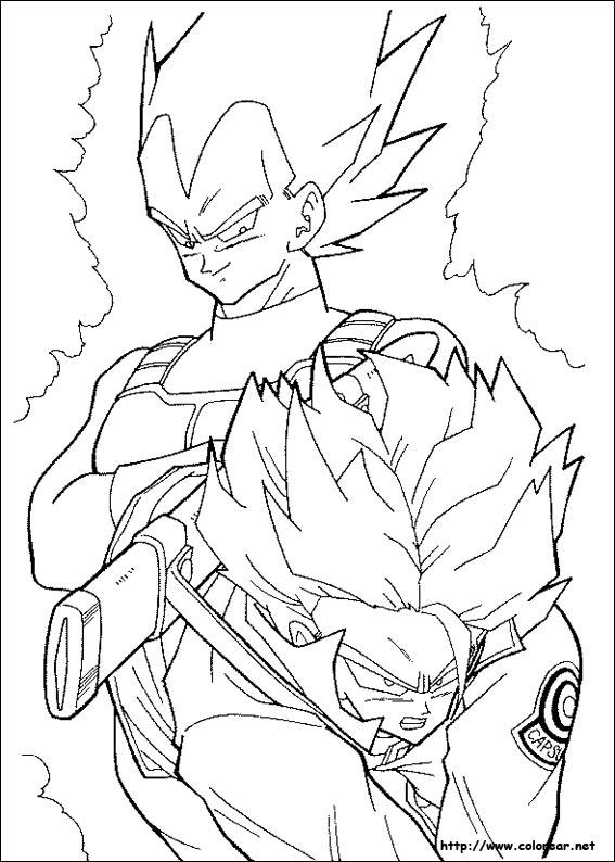 Dibujos para colorear de dragon ball z - Papier peint dragon ball z ...