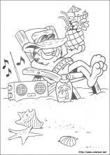 Dibujos De Garfield Para Colorear En Colorear Net