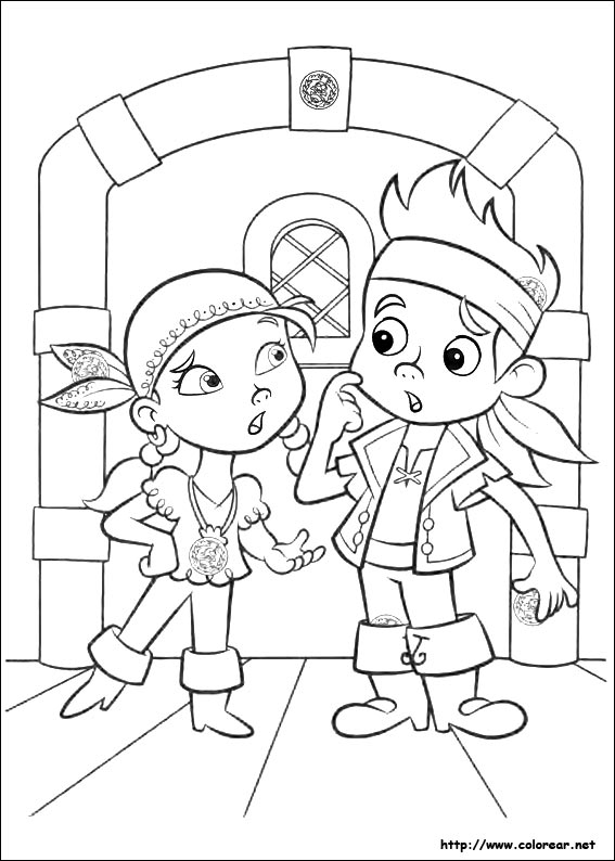 Disney Captain Jake Coloring Pages. Disney. Best Free Coloring Pages