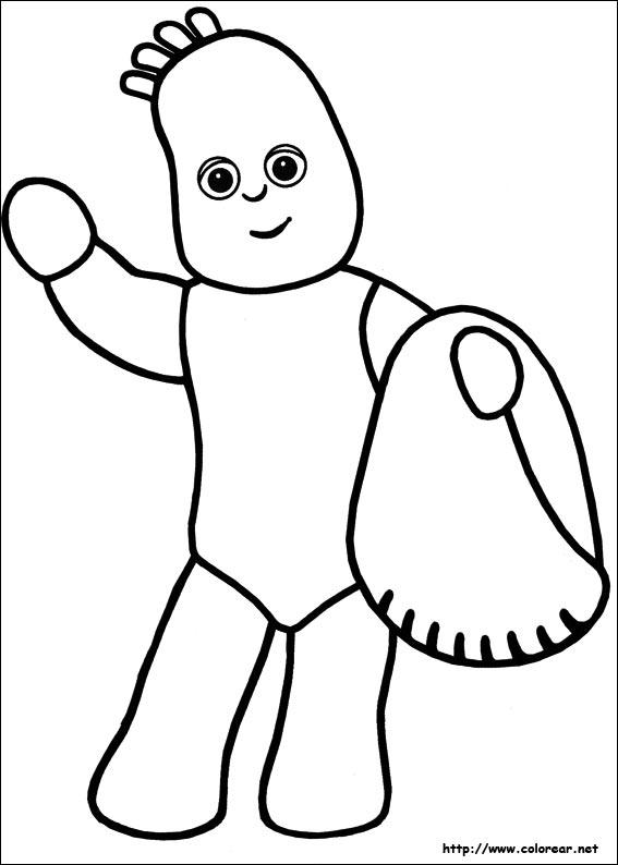 Garden coloring pages characters ~ Dibujos para colorear de El jardín de los sueños