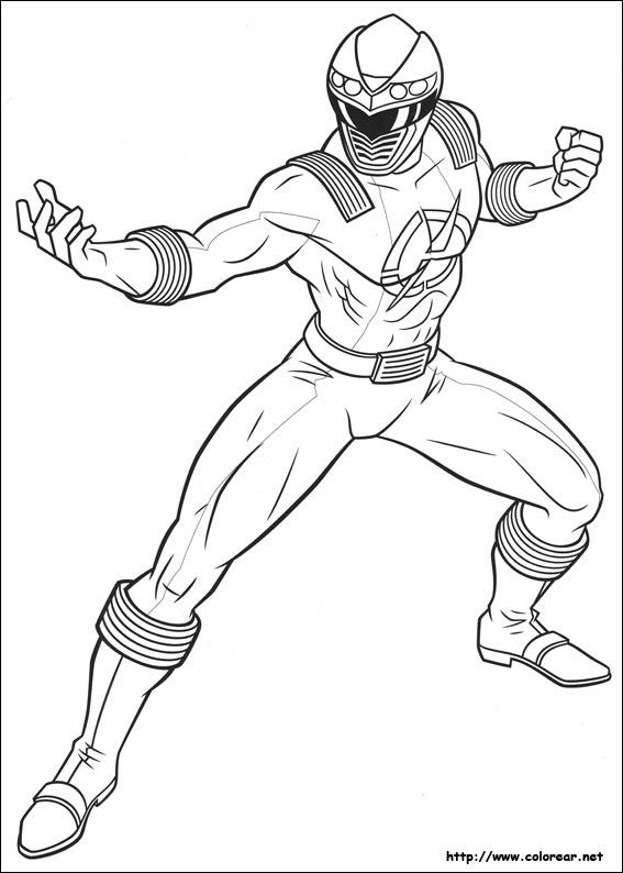 Dibujos Para Colorear Power Rangers