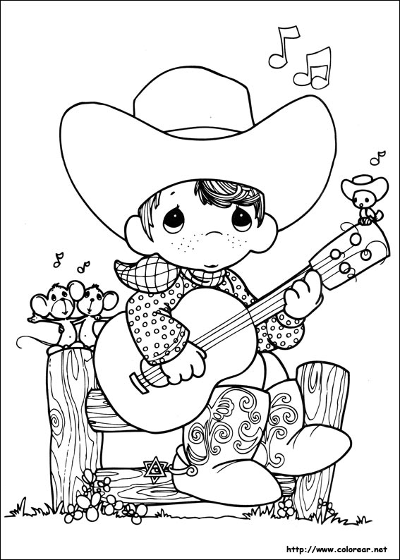 Dibujos para colorear de preciosos momentos for Precious moments coloring page