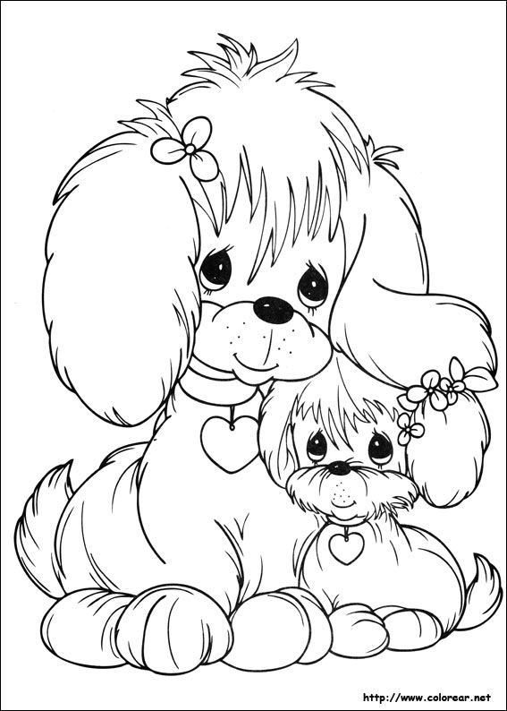 puppyluv coloring pages - photo #24